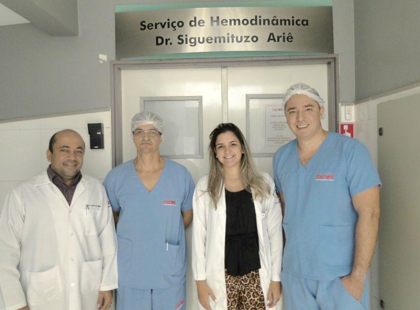 Dr. Luís Gustavo, Dr. Salvador André, Dra. Patrícia Lorenna, Dr. Thenyson Leitão