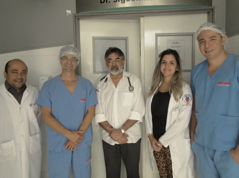 Dr. Luís Gustavo, Dr. Salvador André, Dr. Itamar Costa, Dra. Patrícia Lorenna, Dr. Thenyson Leitão