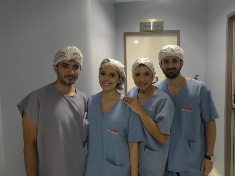 Equipe de Hemodinâmica do Hospital Itacor